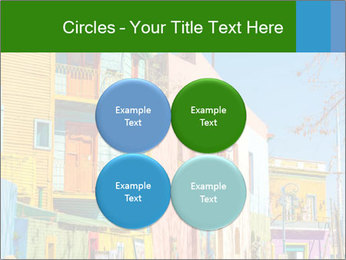 Bright colors of Caminito street PowerPoint Template - Slide 38