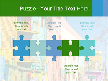 Bright colors of Caminito street PowerPoint Template - Slide 41