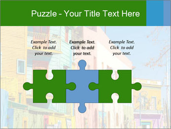 Bright colors of Caminito street PowerPoint Template - Slide 42