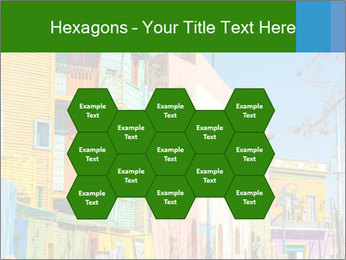 Bright colors of Caminito street PowerPoint Template - Slide 44