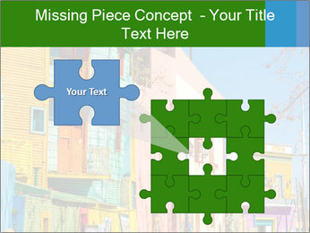 Bright colors of Caminito street PowerPoint Template - Slide 45
