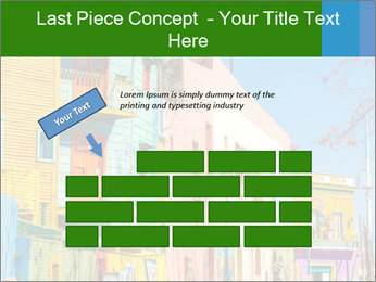 Bright colors of Caminito street PowerPoint Template - Slide 46