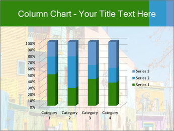 Bright colors of Caminito street PowerPoint Template - Slide 50