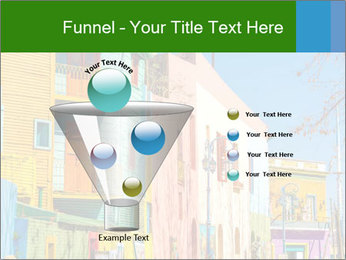 Bright colors of Caminito street PowerPoint Template - Slide 63