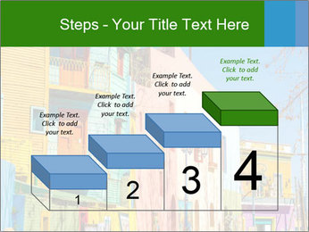 Bright colors of Caminito street PowerPoint Template - Slide 64