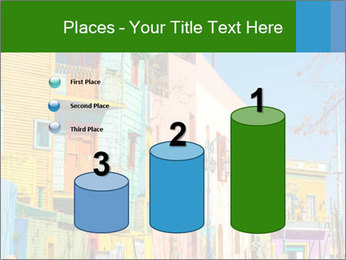Bright colors of Caminito street PowerPoint Template - Slide 65