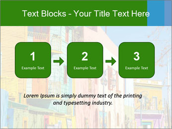 Bright colors of Caminito street PowerPoint Template - Slide 71