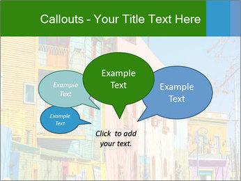 Bright colors of Caminito street PowerPoint Template - Slide 73