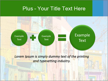 Bright colors of Caminito street PowerPoint Template - Slide 75