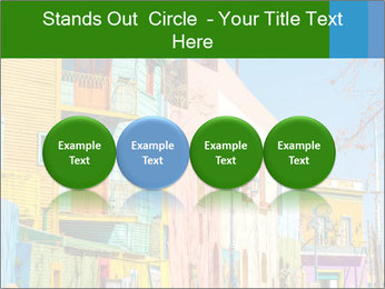 Bright colors of Caminito street PowerPoint Template - Slide 76