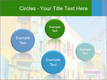 Bright colors of Caminito street PowerPoint Template - Slide 77