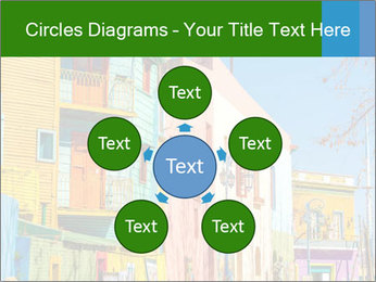 Bright colors of Caminito street PowerPoint Template - Slide 78