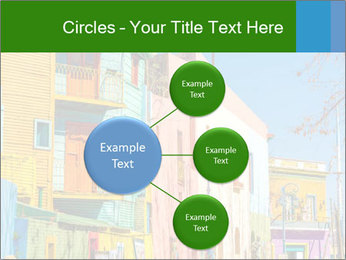 Bright colors of Caminito street PowerPoint Template - Slide 79