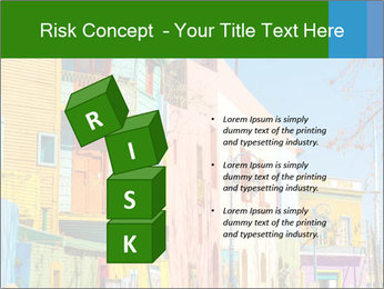 Bright colors of Caminito street PowerPoint Template - Slide 81