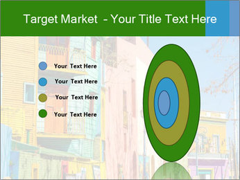 Bright colors of Caminito street PowerPoint Template - Slide 84