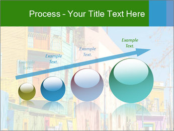 Bright colors of Caminito street PowerPoint Template - Slide 87