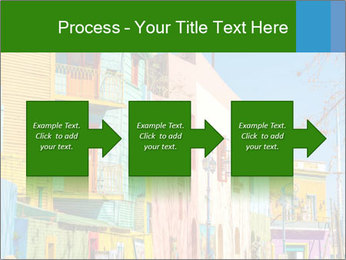 Bright colors of Caminito street PowerPoint Template - Slide 88
