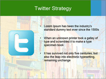 Bright colors of Caminito street PowerPoint Template - Slide 9