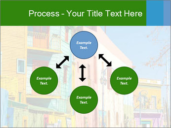 Bright colors of Caminito street PowerPoint Template - Slide 91