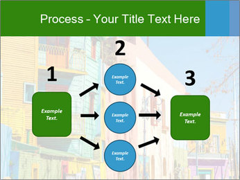 Bright colors of Caminito street PowerPoint Template - Slide 92