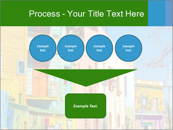 Bright colors of Caminito street PowerPoint Template - Slide 93