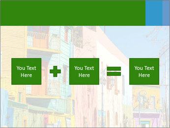 Bright colors of Caminito street PowerPoint Template - Slide 95