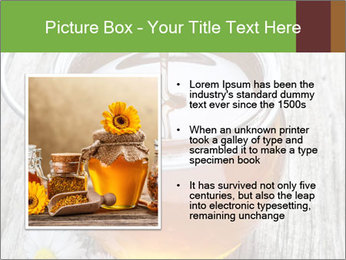 Honey falling PowerPoint Template - Slide 13