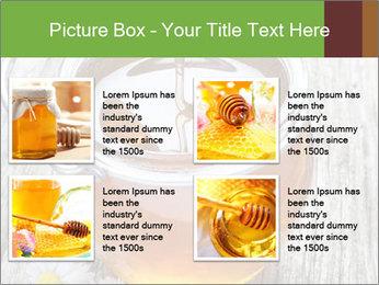 Honey falling PowerPoint Template - Slide 14