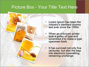 Honey falling PowerPoint Template - Slide 17