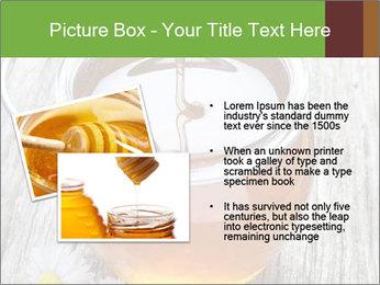 Honey falling PowerPoint Template - Slide 20