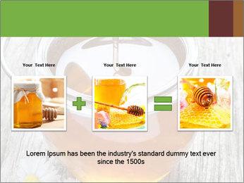 Honey falling PowerPoint Template - Slide 22