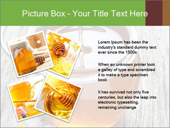 Honey falling PowerPoint Template - Slide 23