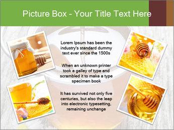 Honey falling PowerPoint Template - Slide 24