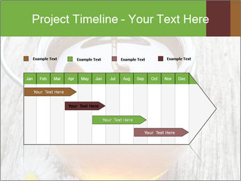 Honey falling PowerPoint Template - Slide 25