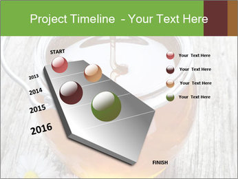 Honey falling PowerPoint Template - Slide 26
