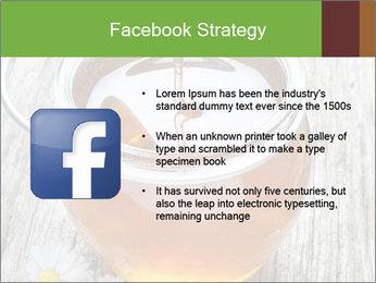 Honey falling PowerPoint Templates - Slide 6