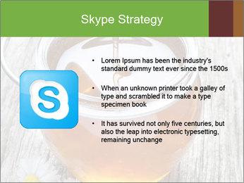 Honey falling PowerPoint Template - Slide 8