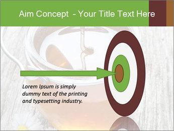 Honey falling PowerPoint Template - Slide 83