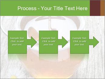 Honey falling PowerPoint Template - Slide 88