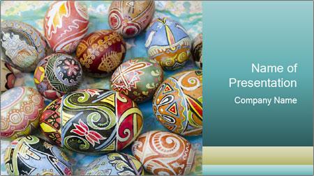 Ukrainian Easter egg PowerPoint Template