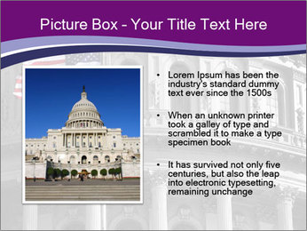 American Governmental Building PowerPoint Template - Slide 13