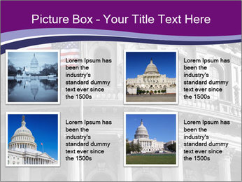 American Governmental Building PowerPoint Template - Slide 14