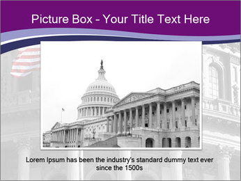 American Governmental Building PowerPoint Templates - Slide 16
