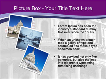American Governmental Building PowerPoint Template - Slide 17
