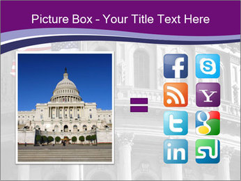 American Governmental Building PowerPoint Template - Slide 21