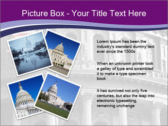 American Governmental Building PowerPoint Template - Slide 23