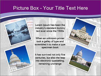 American Governmental Building PowerPoint Template - Slide 24