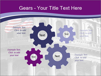 American Governmental Building PowerPoint Templates - Slide 47