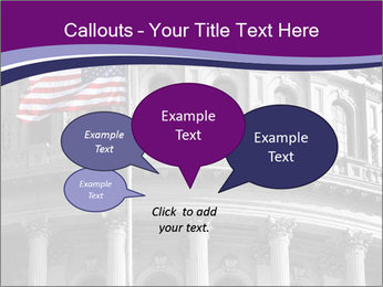 American Governmental Building PowerPoint Template - Slide 73