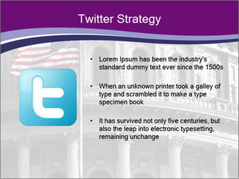 American Governmental Building PowerPoint Template - Slide 9